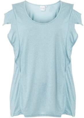 Junarose Womens **Juna Rose Curve Pale Blue T-Shirt