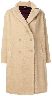 Colmar faux shearling double-breasted coat