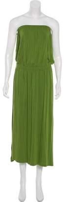 Michael Kors Strapless Midi Dress