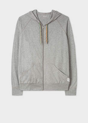 Paul Smith Men's Grey Jersey Cotton Lounge Hoodie