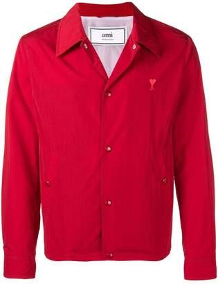 Ami Alexandre Mattiussi Ami De Coeur Snap Buttoned Jacket