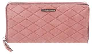 Rebecca Minkoff Quilted Suede Wallet w/ Tags