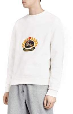 Burberry Champion Embroidered Crest Sweatshirt