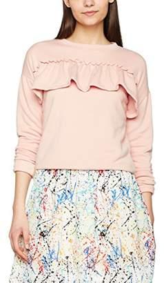 New Look Women's Frill Sweat Sweatshirt,(Manufacturer Size: 40)