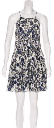 Cinq à Sept Silk Lotus Dress w/ Tags