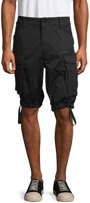 G Star Raw Rovic Stretch Cotton Cargo Shorts