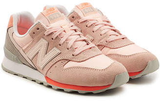 New Balance WR996D Sneakers with Suede and Mesh