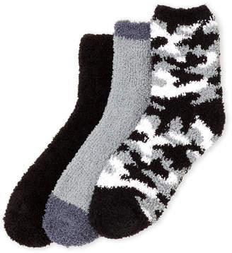 Ellen Tracy 3-Pack Star Print Cozy Socks