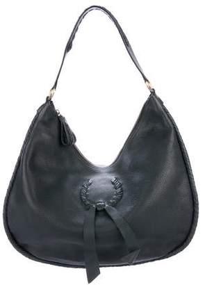 Nina Ricci Grained Leather Hobo