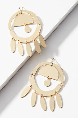 Anthropologie Flutter Drop Earrings
