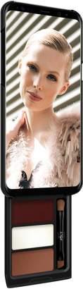 Samsung Pout Case - Utterly Cherry Mocha Kit Phone Makeup Case For S8 Plus Black & Black Case