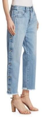 Jonathan Simkhai Button-Down Manfriend Jeans