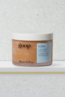 Goop Detox body scrub