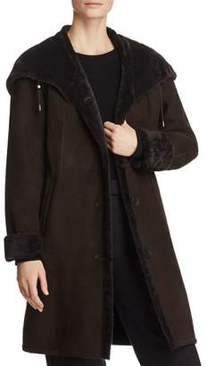 Maximilian Furs Lamb Shearling Button Coat - 100% Exclusive