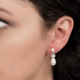 a863c4c9bdcb3 Drop Stud Diamante Earrings - ShopStyle UK