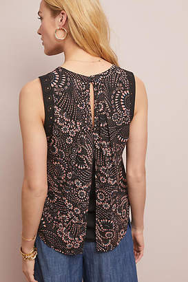 Daniel Rainn Reyes Sleeveless Blouse