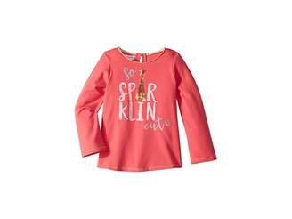 Mud Pie So Sparklin' Cute Long Sleeve T-Shirt (Infant/Toddler)