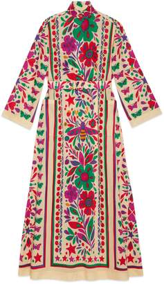 Gucci Dress with Star Garden print