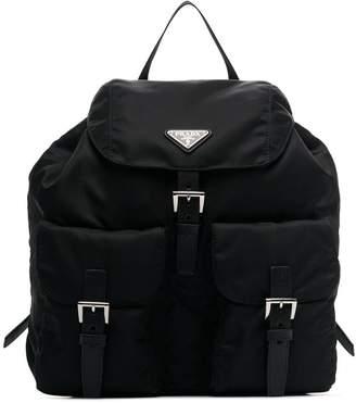 Prada Black Classic Nylon Backpack