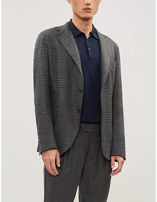 Corneliani Slim-fit cotton-piqué polo shirt