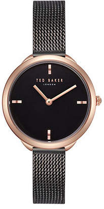 Ted Baker Elena Rose Goldtone Stainless Steel Mesh Bracelet Watch