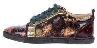 Christian Louboutin Louis On Fire Sneakers