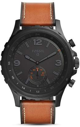 Fossil Q Nate Hybrid Smartwatch, 50mm