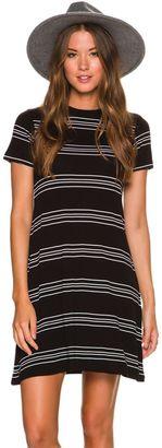 Element Knit Stripe Dress $44.95 thestylecure.com
