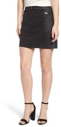 Rebecca Minkoff Emery Stretch Cotton Blend Mini Skirt