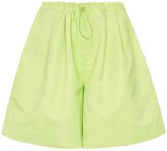 STAUD drawstring twill shorts