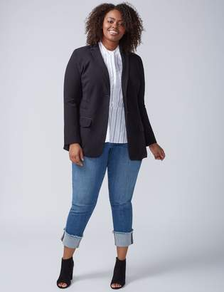 Lane Bryant Tailored Stretch Girlfriend Blazer