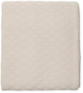 Peacock Alley Brandy Cotton Coverlet