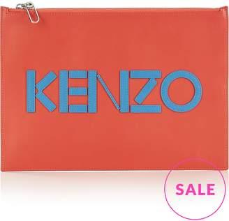 Kenzo Logo A4 Pouch