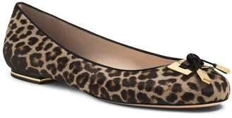 Michael Kors Pearl Leopard Hair Calf Flat