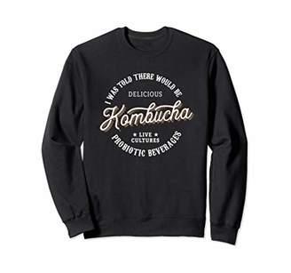 Kombucha Gifts - Funny Vintage Kombucha Label Sweatshirt