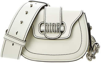 Christian Dior D Fence Mini Leather Saddle Bag
