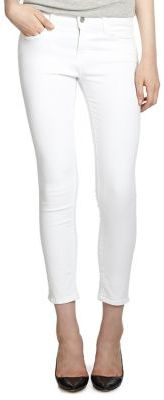 J BRAND Sateen Mid-Rise Capri Jeans $172 thestylecure.com