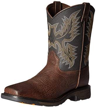 Ariat Kids' Workhog Wide Square Toe Western Cowboy Boot