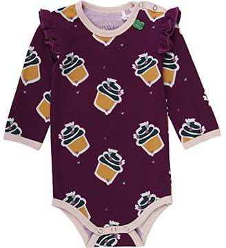 Green Cotton Fred's World by Baby Girls' Cupcake Body Bodysuit