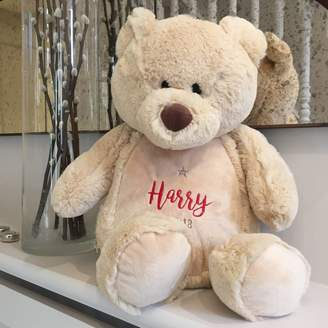 Big Stitch Personalised Cuddly Teddy Bear