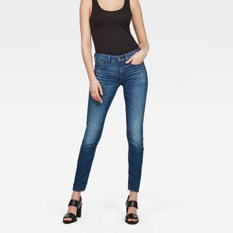G Star 3301 Deconstructed Mid waist Skinny Jeans