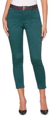 Rafaella Floral Cropped Pants