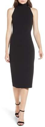 Leith Mock Neck Body-Con Dress