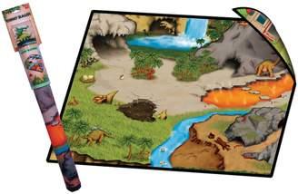 Neat Oh Neat-Oh! Dinosaur Prehistoric World 2-Sided Playmat & Dinosaurs Set