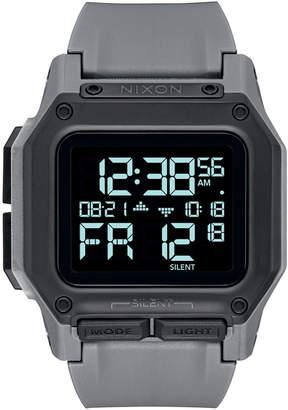Nixon Men Digital Regulus Strap Watch 46mm