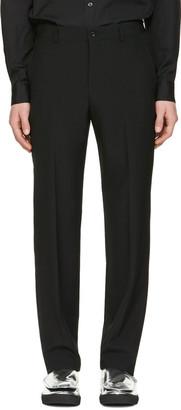 Comme des Garçons Homme Plus Black Tropical Trousers $475 thestylecure.com