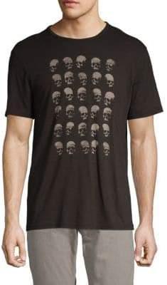 John Varvatos Skull Graphic Cotton Tee