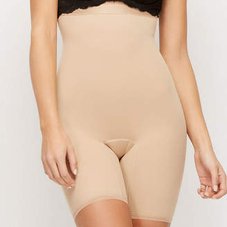 HOOKEDUP Hookedup High Waist Shaping Mid Thigh Thigh Slimmers - Plus 1074