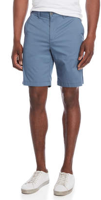 Original Penguin Solid Straight Fit Stretch Shorts