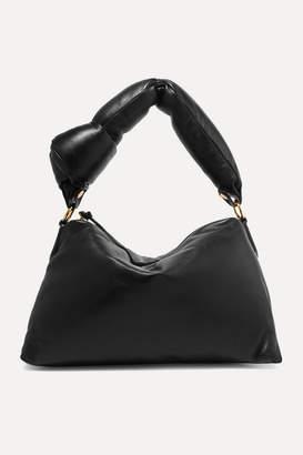 Dries Van Noten Padded Leather Tote - Black